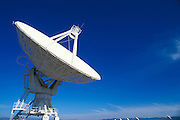 Radio telescopes at the National Radio Astronomy Observatory Very Large Array on the Plains of San Agustin, New Mexico