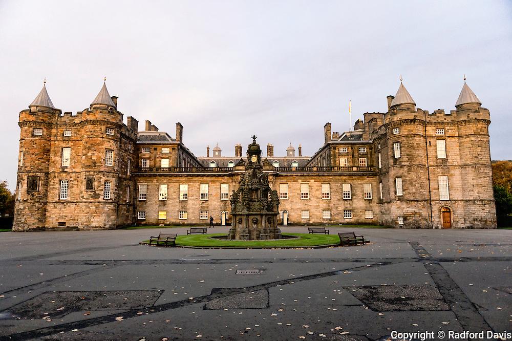 Holyrood Palace, Edinburgh, Scotland, UK