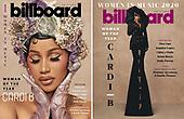 December 2, 2020 (USA): Billboard Woman of the Year: Cardi B
