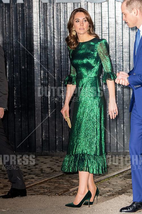 DUBLIN - Catherine (Kate Middelton), Hertogin van Cambridge bij een Receptie in de Gravity Bar van het Guinness Storehouse in Dublin.
