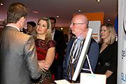 Prinses Maxima bezoekt Week van de Ondernemer in het Beatrix Theater in Utrecht.Eén van de thema's van donderdag is Ondernemend Financieren.<br /> <br /> Princess Maxima visits Week of the Entrepreneur in the Beatrix Theatre in Utrecht.Een of the themes from Thursday's Entrepreneurial Finance.
