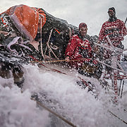 Leg 8 from Itajai to Newport, day 13 on board MAPFRE, Blair and Pablo. 04 May, 2018.