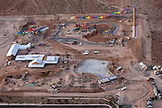 A water park is being built next to a residential area in Las Vegas, Nevada, USA, as the city needs development and investments to continue being an economic success, and avoid becoming another 'victim' of the recent economic crisis.