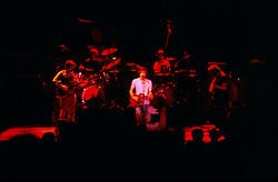 Phil, Bill, Bob, Micky and Jerry play at the Merriweather Post Pavilion, 20 June 1983.