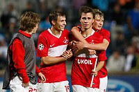 Fotball<br /> Frankrike<br /> Foto: Dppi/Digitalsport<br /> NORWAY ONLY<br /> <br /> FOOTBALL - CHAMPIONS LEAGUE 2010/2011 - GROUP STAGE - GROUP F - OLYMPIQUE MARSEILLE v SPARTAK MOSKVA - 15/09/2010<br /> <br /> JOY  SPARTAK MOSCOW