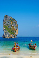 Thailande, province de Krabi, ile de ko Poda // Thailand, Krabi province, Ko Poda island