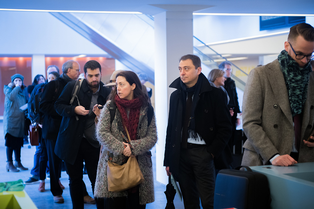 Brussels, Belgium - 13 February 2018<br /> EIT 2018 Call for Proposals - Information Day<br /> Photo: EIT