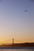 25 de Abril Bridge, 25th April Bridge, crossing the Tagus River in Lisbon, Portugal
