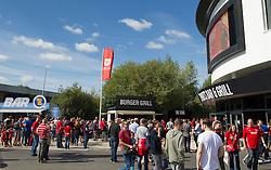 Fans village outside Ashton Gate Stadium - Mandatory by-line: Paul Knight/JMP - 17/09/2016 - FOOTBALL - Ashton Gate Stadium - Bristol, England - Bristol City v Derby County - Sky Bet Championship