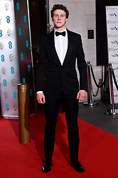 George MacKay attending the after show party for the 73rd British Academy Film Awards.