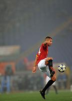 FOOTBALL - UEFA CHAMPIONS LEAGUE 2010/2011 - GROUP STAGE - GROUP E - AS ROMA v BAYERN MUNCHEN - 23/11/2010 - PHOTO FABIO BOZZANI / PENTASPORTS / DPPI - JEREMY MENEZ (ROMA)