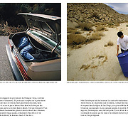 """Portfolio spread in """"Regards"""", a French quarterly publication dedicated to political, cultural and social commentary. Page 3 of 4"""