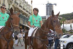 Dr. Giovanni Pezzimenti bei der Monte Carlo Polo Cup Parade in Monaco / 160916<br /> <br /> ***  Monte Carlo Polo Cup Parade at Place du Casino, Hotel de Paris, Monaco, September 16, 2016 ***