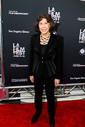 LOS ANGELES, CA - JUNE 10: Lily Tomlin attends the opening night premiere of 'Grandma' during the 2015 Los Angeles Film Festival at Regal Cinemas L.A. Live on June 10, 2015. Byline, credit, TV usage, web usage or linkback must read SILVEXPHOTO.COM. Failure to byline correctly will incur double the agreed fee. Tel: +1 714 504 6870.
