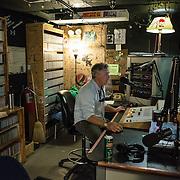 McMurdo Radio Station in Building 155