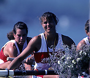 Barcelona, SPAIN.  CAN W8+ gold medalist, Shannon CRAWFORD. 1992 Olympic Rowing Regatta Lake Banyoles, Catalonia [Mandatory Credit Peter Spurrier/ Intersport Images]