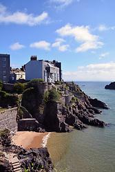 Castle beach, Tenby, Pembrokeshire South Wales July 2021