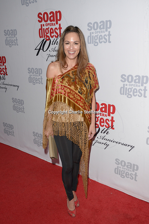 TERRI IVENS at Soap Opera Digest's 40th Anniversary party at The Argyle Hollywood in Los Angeles, California
