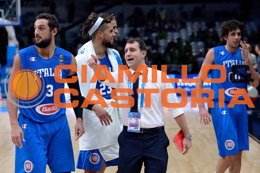 DESCRIZIONE : Lille Eurobasket 2015 Ottavi di Finale Eight Finals Israele Italia Israel Italy<br /> GIOCATORE : Francesco D'Aniello<br /> CATEGORIA : postgame<br /> SQUADRA : Italia Italy<br /> EVENTO : Eurobasket 2015 <br /> GARA : Israele Italia Israel Italy<br /> DATA : 13/09/2015 <br /> SPORT : Pallacanestro <br /> AUTORE : Agenzia Ciamillo-Castoria/Max.Ceretti<br /> Galleria : Eurobasket 2015 <br /> Fotonotizia : Lille Eurobasket 2015 Ottavi di Finale Eight Finals Israele Italia Israel Italy