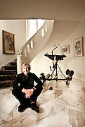 Andreas Bechtler, Art Collector. Founder of the Bechtler Museum of Modern Art in Charlotte, NC. Photographed in 2008 in his home in Charlotte, NC for Apollo Magazine.
