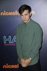 November 12, 2016 - New York, NY, USA - November 11, 2016  New York City..Jacob Whitesides attending the 2016 Nickelodeon HALO awards at Basketball City Pier 36  South Street on November 11, 2016 in New York City. (Credit Image: © Callahan/Ace Pictures via ZUMA Press)