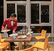 COSTA CROCIERE:, besides the a la carte dinner in the main restaurant, there is a rich buffet