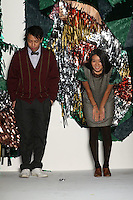 Thuy Pham and Miho Aoki, designers of the United Bamboo Fall 2009 Collection