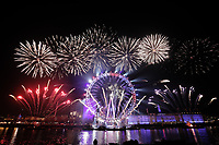 New Years eve fireworks London, United Kingdom - 01 Jan 2020 photo by Roger Alarcon