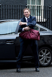 © London News Pictures. 18/03/2013 . London, UK.  Chairman of the Conservative Party Grant Shapps arriving on  Downing Street. Photo credit : Ben Cawthra/LNP
