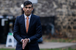© Licensed to London News Pictures. 26/11/2020. London, UK. Chancellor Rishi Sunak in Westminster. The government forecasts that the UK economy will shrink 11.3 per cent this year as a result of the Coronavirus pandemic. Photo credit: Rob Pinney/LNP
