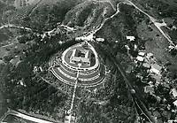 1922 Aerial photo of he Bernheimer Estate. Now the Yamashiro