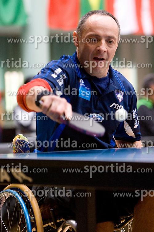 Ivan Jani Lisac of Slovenia at 7th Slovenia Open - Thermana Lasko 2010 Table Tennis Championships for the Disabled Factor 40, on May 6, 2010, in Dvorana Tri Lilije,  Lasko, Slovenia.  (Photo by Vid Ponikvar / Sportida)