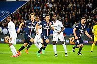 David LUIZ / Thiago SILVA - 28.04.2015 - Paris Saint Germain / Metz - Match en retard - 32eme journee Ligue 1<br />Photo : Nolwenn Le Gouic / Icon Sport