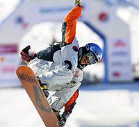 Snowboard, NM i halfpipe, Kongsberg Skisenter 24. mars 2001. Kjersti Østegaard Buaas. Kjersti Buaas.