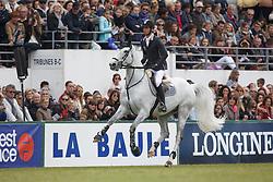 Guerdat Steve, (SUI), Nasa<br /> Derby Laiterie de Montage - Region Pays de La Loire<br /> Longines Jumping International de La Baule 2015<br /> © Hippo Foto - Dirk Caremans<br /> 16/05/15