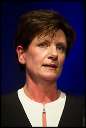 September 16, 2016 - Bournemouth, Hampshire, United Kingdom - Image ©Licensed to i-Images Picture Agency. 16/09/2016. Bournemouth, United Kingdom. ..UKIP 2016 National Conference at the Bournemouth International Centre, UK. ..The new UKIP leader Diane James speaks after winning the leadership contest...Picture by Ben Stevens / i-Images (Credit Image: © Ben Stevens/i-Images via ZUMA Wire)