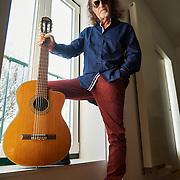 Lisboa, 09/01/2015 - O músico brasileiro Alceu Valença fala sobre os próximos concertos em Lisboa e Porto<br /> (Paulo Alexandrino / Global Imagens)