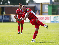 August 28, 2017 - London, United Kingdom - Billy Bricknell of Billericay Town.during Bostik League Premier Division match between Thurrock vs Billericay Town at  Ship Lane Ground, Aveley on 28 August 2017  (Credit Image: © Kieran Galvin/NurPhoto via ZUMA Press)