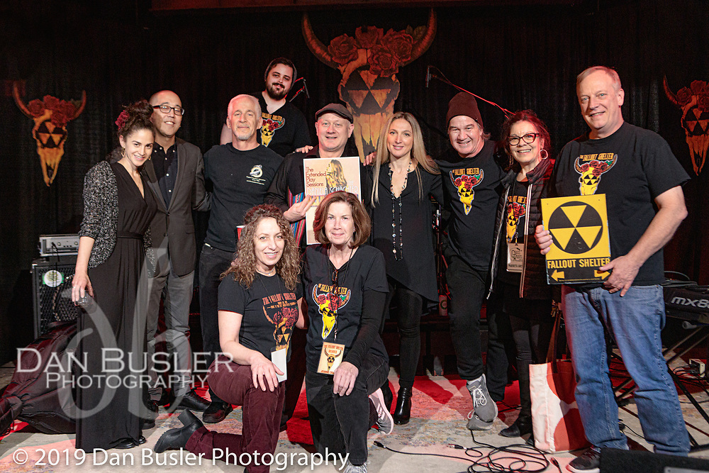 Daniela Schachter and her group at The Extended Play Sessions - Fallout Shelter October 19, 2019.