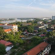 Aerial view of Hue, Vietnam.