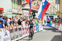 Rafal Majka of Bora Hansgrohe during 5th Time Trial Stage of 25th Tour de Slovenie 2018 cycling race between Trebnje and Novo mesto (25,5 km), on June 17, 2018 in  Slovenia. Photo by Vid Ponikvar / Sportida