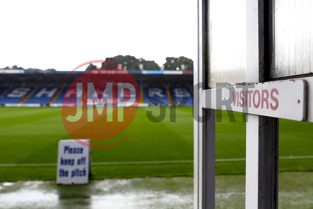 A general view of Gigg Lane - Mandatory by-line: Matt McNulty/JMP - 19/08/2017 - FOOTBALL - Gigg Lane - Bury, England - Bury v Bristol Rovers - Sky Bet League One
