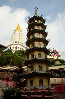 """The Kek Lok Si Temple or """"Temple of Supreme Bliss""""  is a Buddhist temple situated in Air Itam in Penang and is one of the best known temples on the island. It is said to be the largest Buddhist temple in Southeast Asia."""
