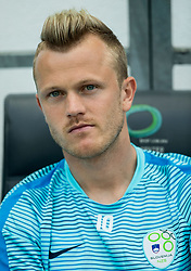 Nik Omladic of Slovenia during football match between National teams of Slovenia and Malta in Round #6 of FIFA World Cup Russia 2018 qualifications in Group F, on June 10, 2017 in SRC Stozice, Ljubljana, Slovenia. Photo by Vid Ponikvar / Sportida