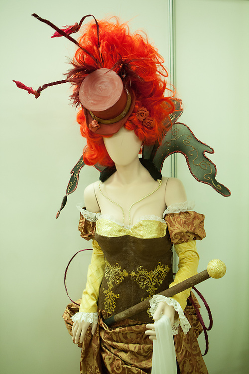 """Cirque du Chocolat"", fashion inspired by ""Zarkana"". Chocolatier/Chef Vanessa Greeley; Sugar artists Silvina Barboza, Carolina Lara and Quinton Bailey."