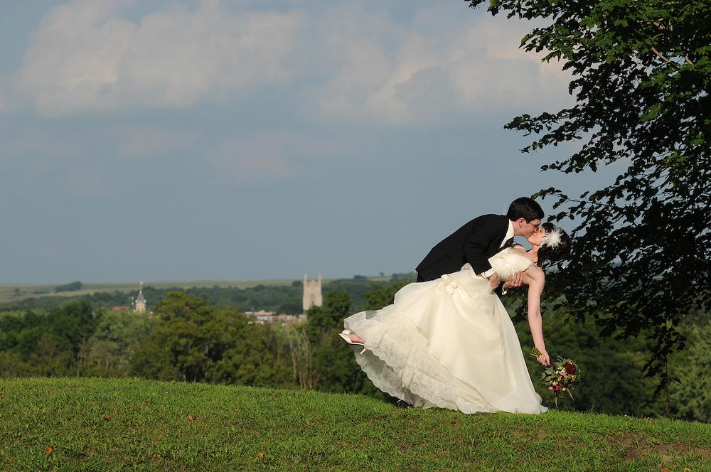 The wedding celebration of Stephanie Lynn Pettit Polt to Benjamin Thomas Fuchsen in Northfield, Minnesota.