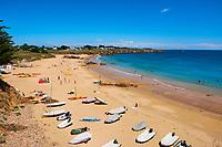 France, Vendée (85), Ile d'Yeu, plage des Vielles // France, Vendée, Yeu island, les Vieilles beach