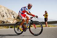 Luis Angel Mate (ESP - Cofidis) Polka ots jersey, during the UCI World Tour, Tour of Spain (Vuelta) 2018, Stage 4, Velez Malaga - Alfacar Sierra de la Alfaguara 161,4 km in Spain, on August 28th, 2018 - Photo Luca Bettini / BettiniPhoto / ProSportsImages / DPPI