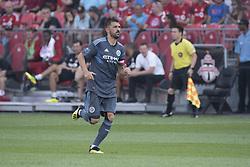 August 12, 2018 - Toronto, Ontario, Canada - MLS Game at BMO Field 2-3 New York City. IN PICTURE: DAVID VILLA (Credit Image: © Angel Marchini via ZUMA Wire)
