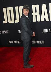 Jojo Rabbit Premiere - 15 Oct 2019